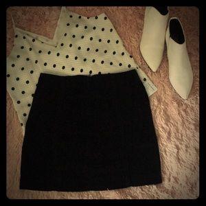 NWT Free People Corduroy Mini Skirt